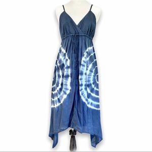 EUC Motherhood Tie Dye Handkerchief Dress, S